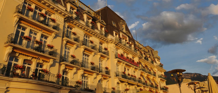 Hotel Suisse Majestic, Montreux, Switzerland - front of the hotel.jpg